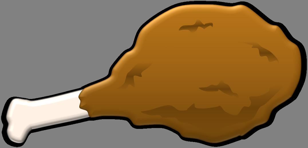1076x519 Chicken Leg Clipart 3
