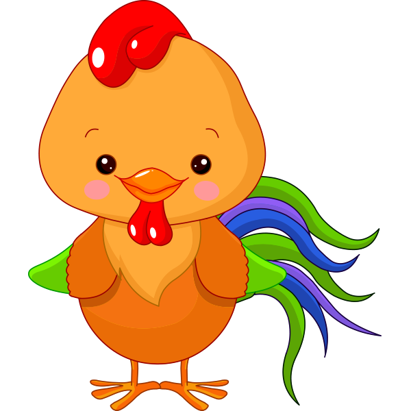 600x600 Chicken Little Clip Art, Chicken Crafts And Svg File