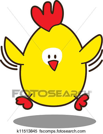 363x470 Clipart Of Cute Little Chicken K11513845