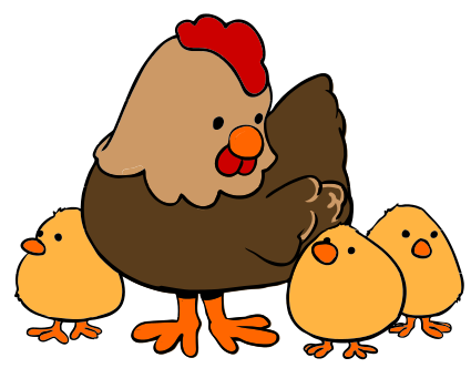 425x332 Cute Chicken Clipart Clipart 2 Other's Art Hens