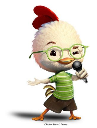 327x431 Chicken Little, 2005 Chicken Little, 2005 Disney