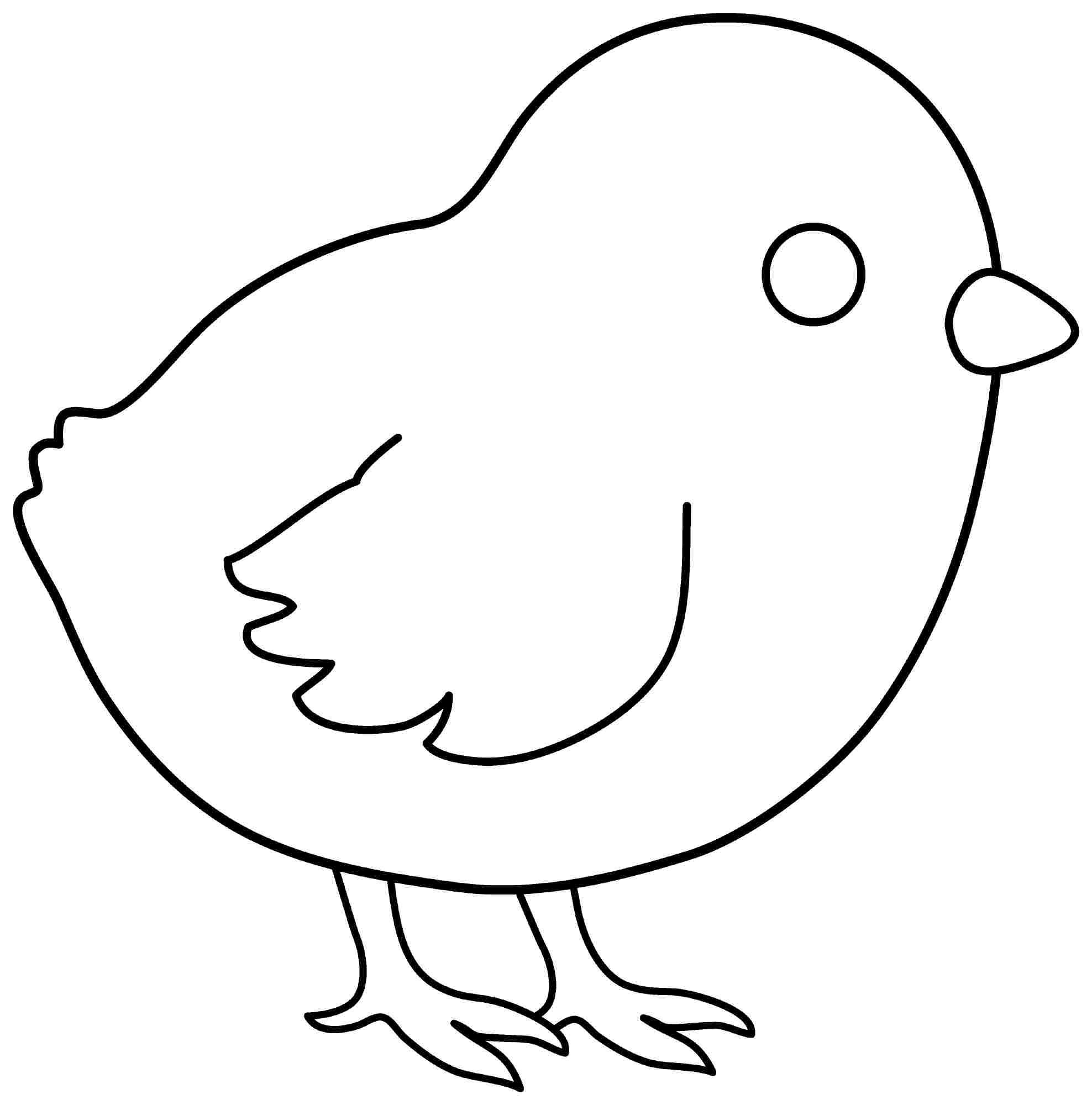 Chicken Outline