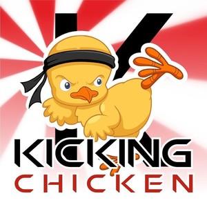 300x300 Chicken Kicking Cliparts 189063