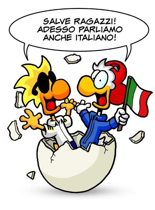 500x679 Chicken Wings Now Speak Italian! Chicken Wings Comics