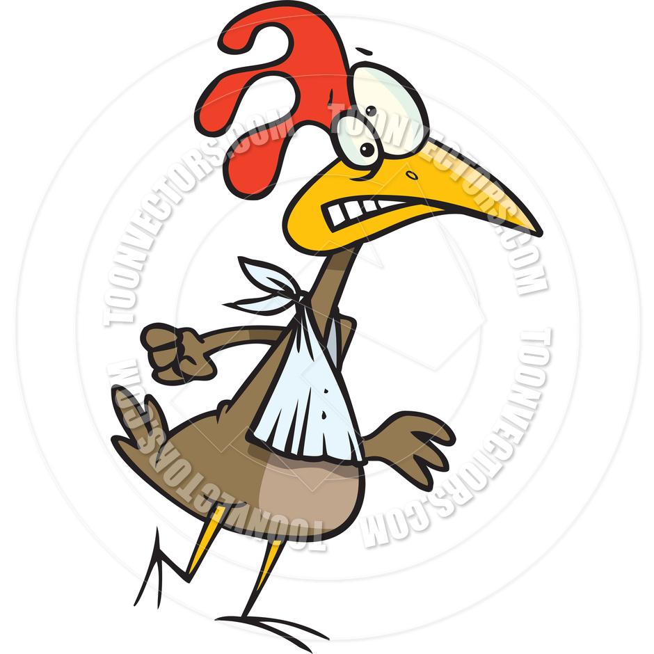 940x940 Cartoon Chicken Wings By Ron Leishman Toon Vectors Eps