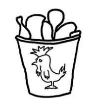 200x200 Hot Wings Clipart