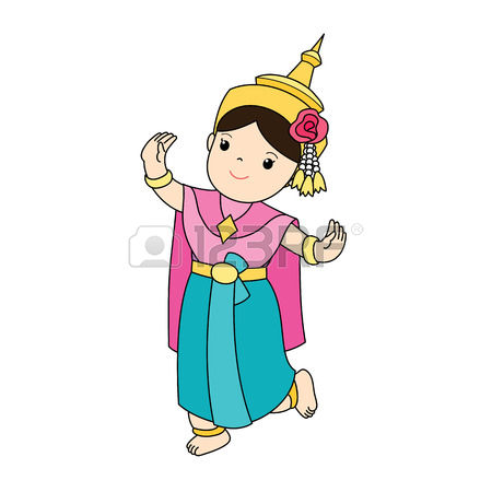 450x450 Thailand Clipart Traditional Dance