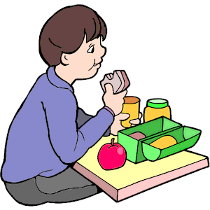300x300 Child Clipart Lunch Time