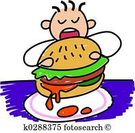 197x194 Child Eating Illustrations And Clipart. 1,552 Child Eating Royalty