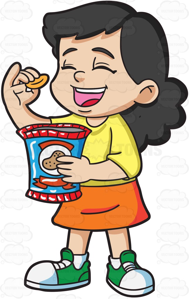 646x1024 Chips Clipart Kid Snack