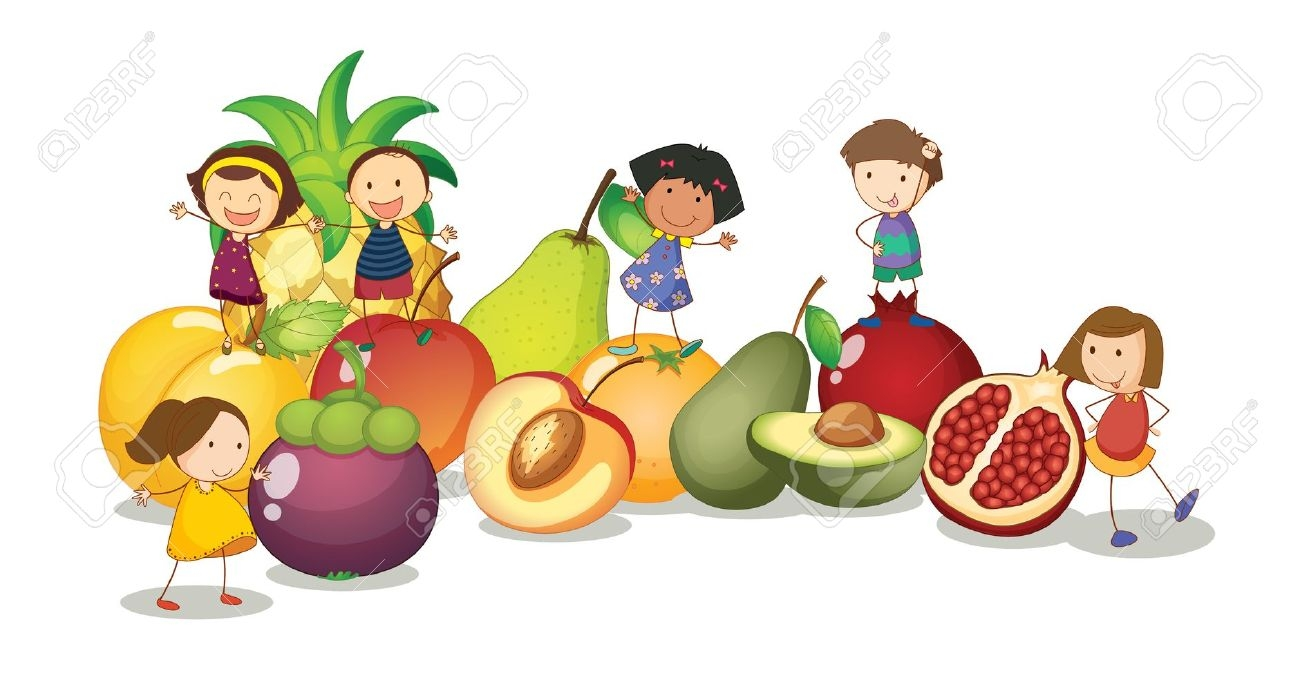 1300x689 Fruits Amp Vegetables Clipart Healthy Child