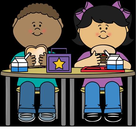 450x416 Kids Eating Lunch Clip Art