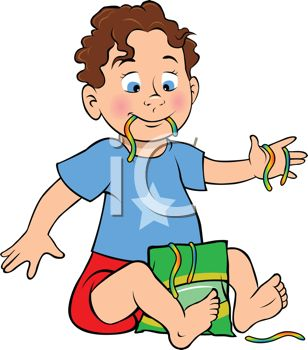308x350 Royalty Free Clip Art Image Little Boy Eating Candy Worms