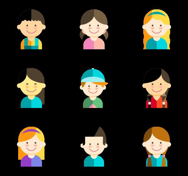 600x564 Child Icons