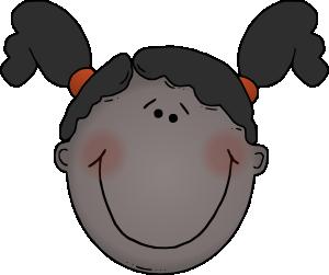 300x251 Girl Face Clip Art