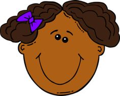 236x189 Ponytail Clipart Kid Face