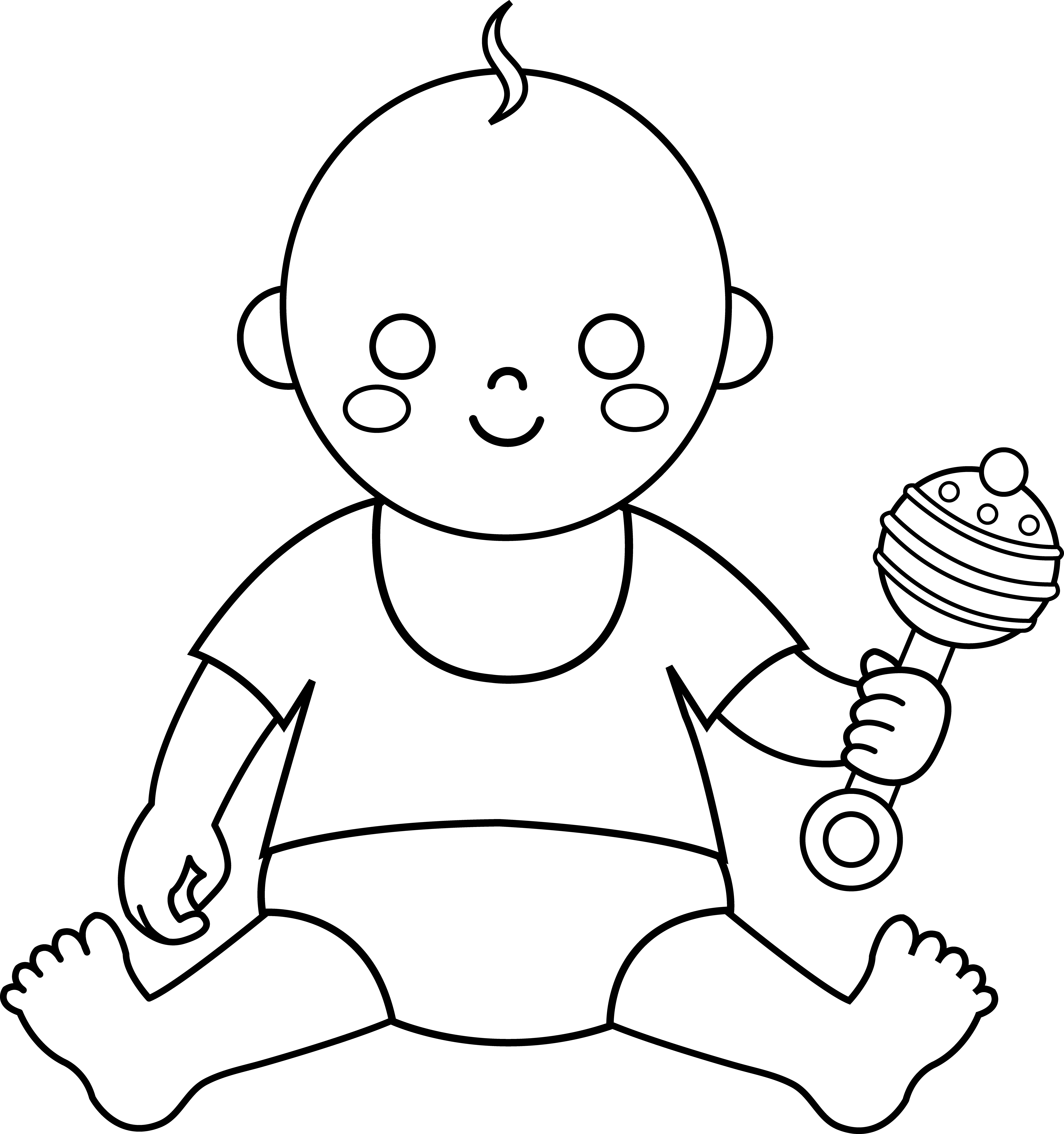 5372x5725 Colorable Baby Design