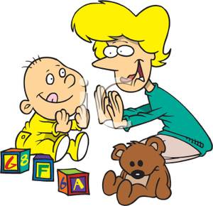 Child Playing Clipart