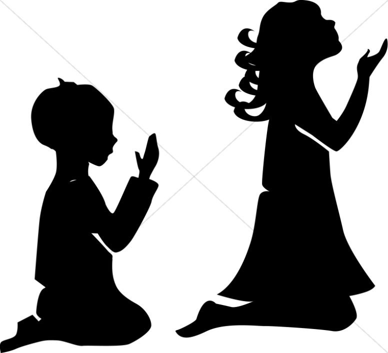 776x706 Children In Prayer Sunday School Clipart