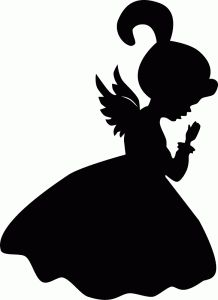 218x300 Child Praying Silhouette Clipart