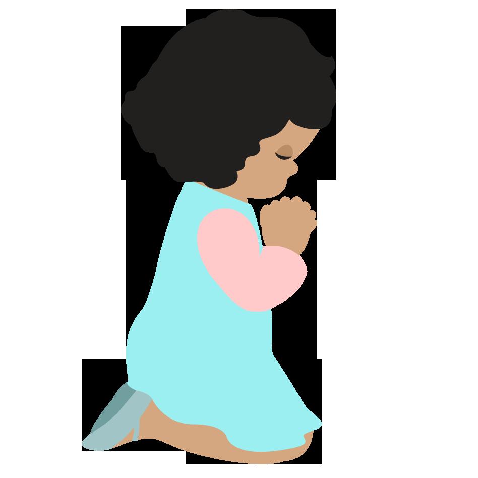 948x948 Best Children Praying Clipart