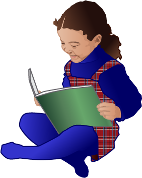 290x362 Free Clip Art Children Reading Books Clipart Panda