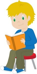 151x300 Reading Clipart Image