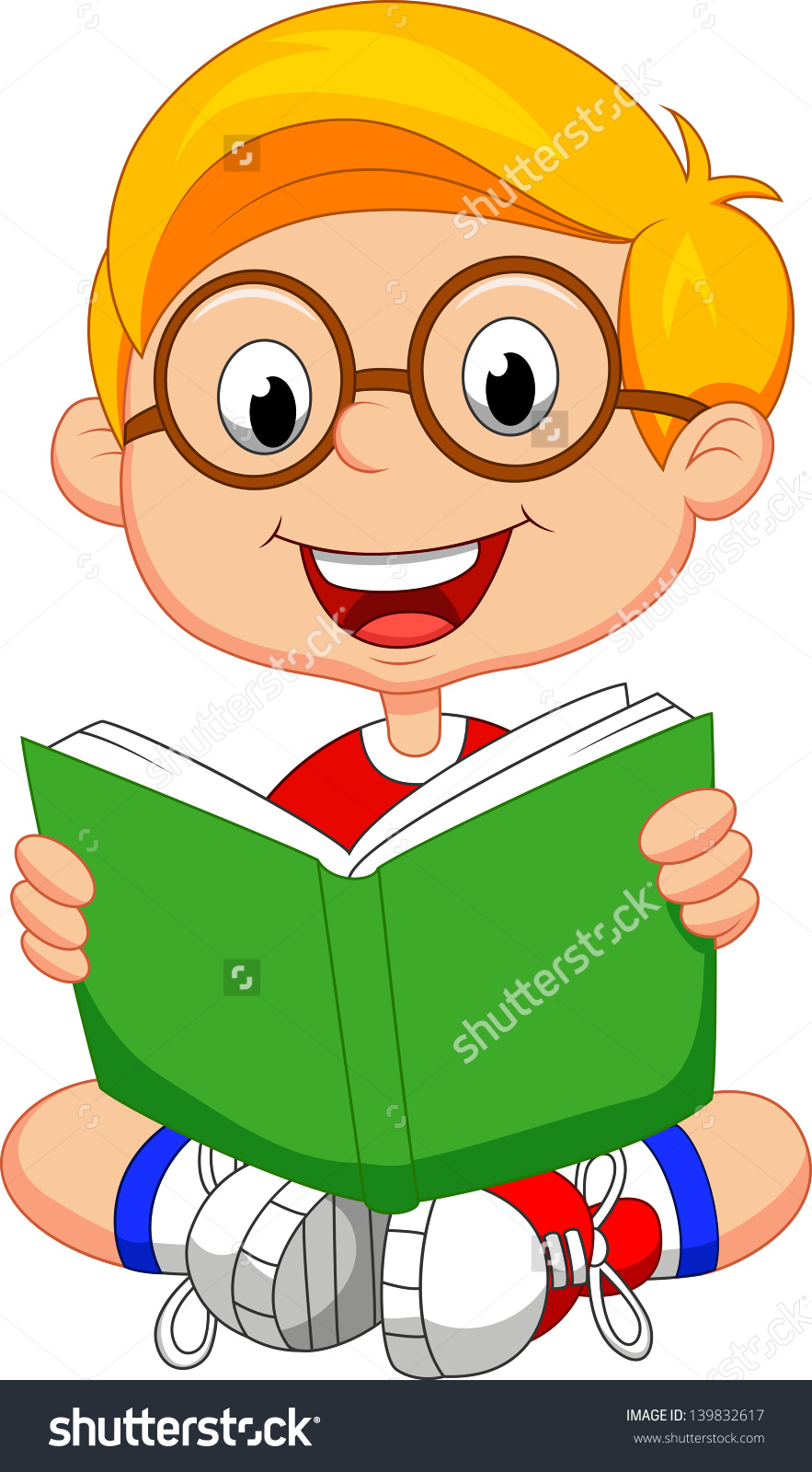883x1600 Reading A Book In Bed Clipart