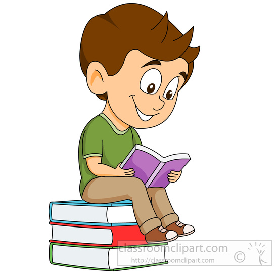 550x538 Bobook Clipart Reading
