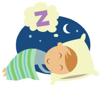 207x173 Clipart Of Children Sleeping