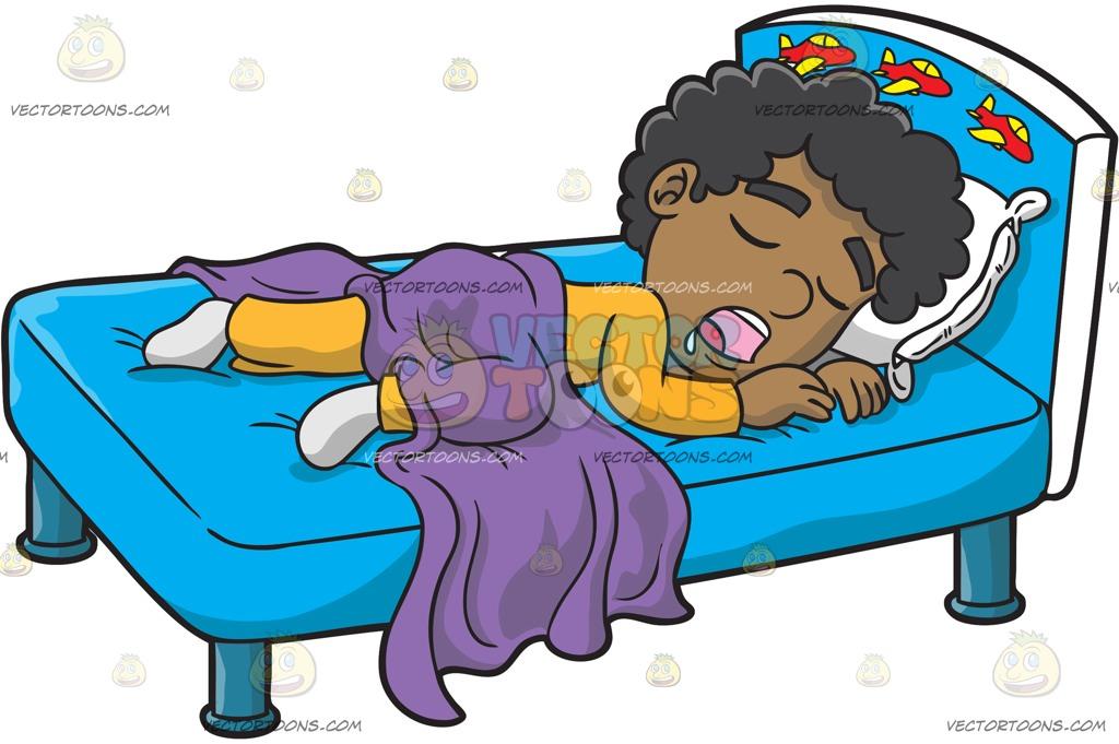 1024x681 Sleeping Clipart Black Boy