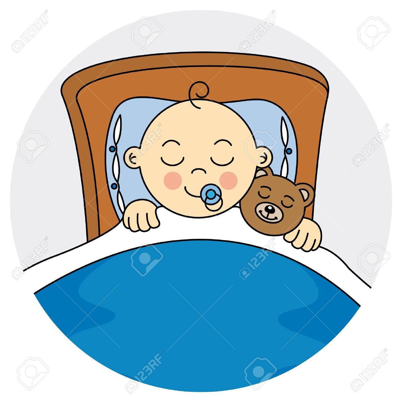 1300x1300 Baby Boy Sleeping Clipart