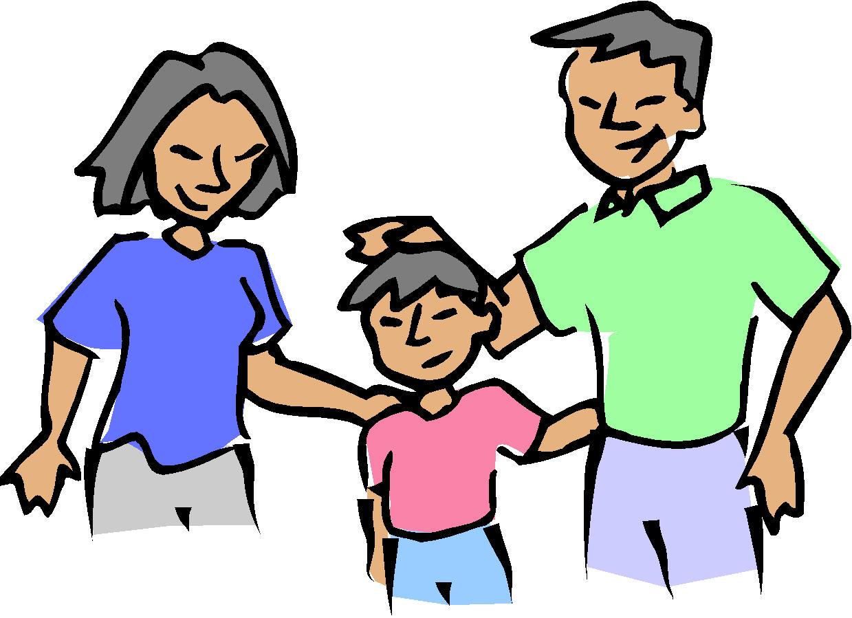 1239x899 Clipart Parent With Kids