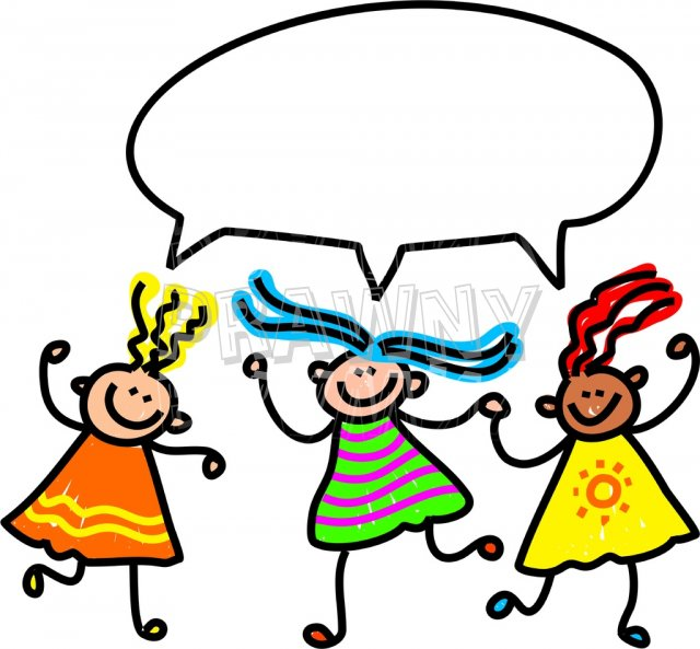 640x593 Talking On The Phone Kids Clipart Collection
