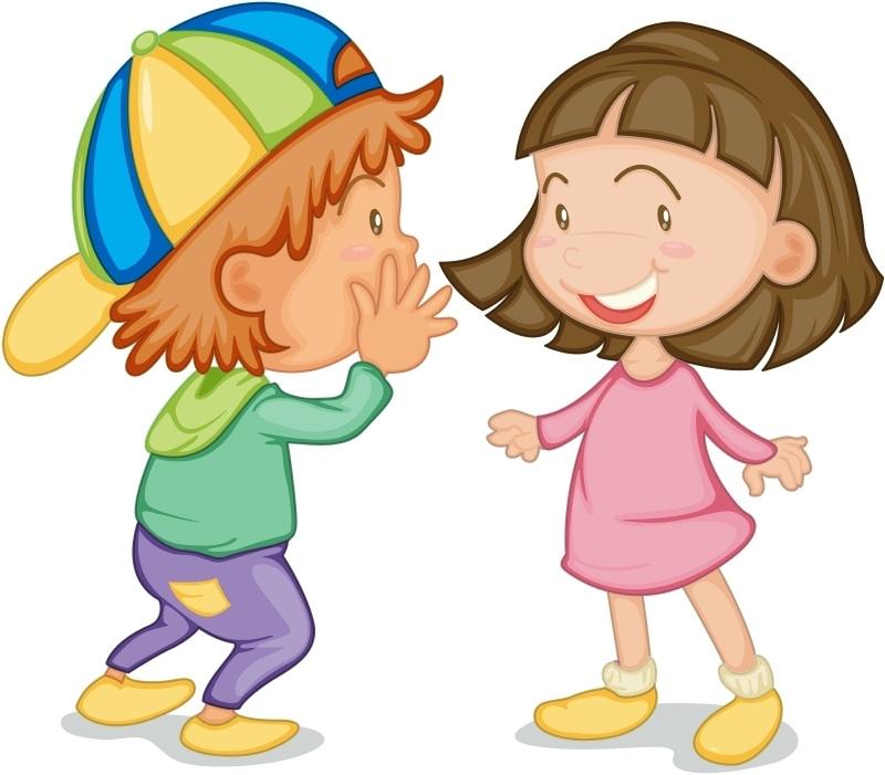 800x701 Animated Clip Art Children Talking My Site