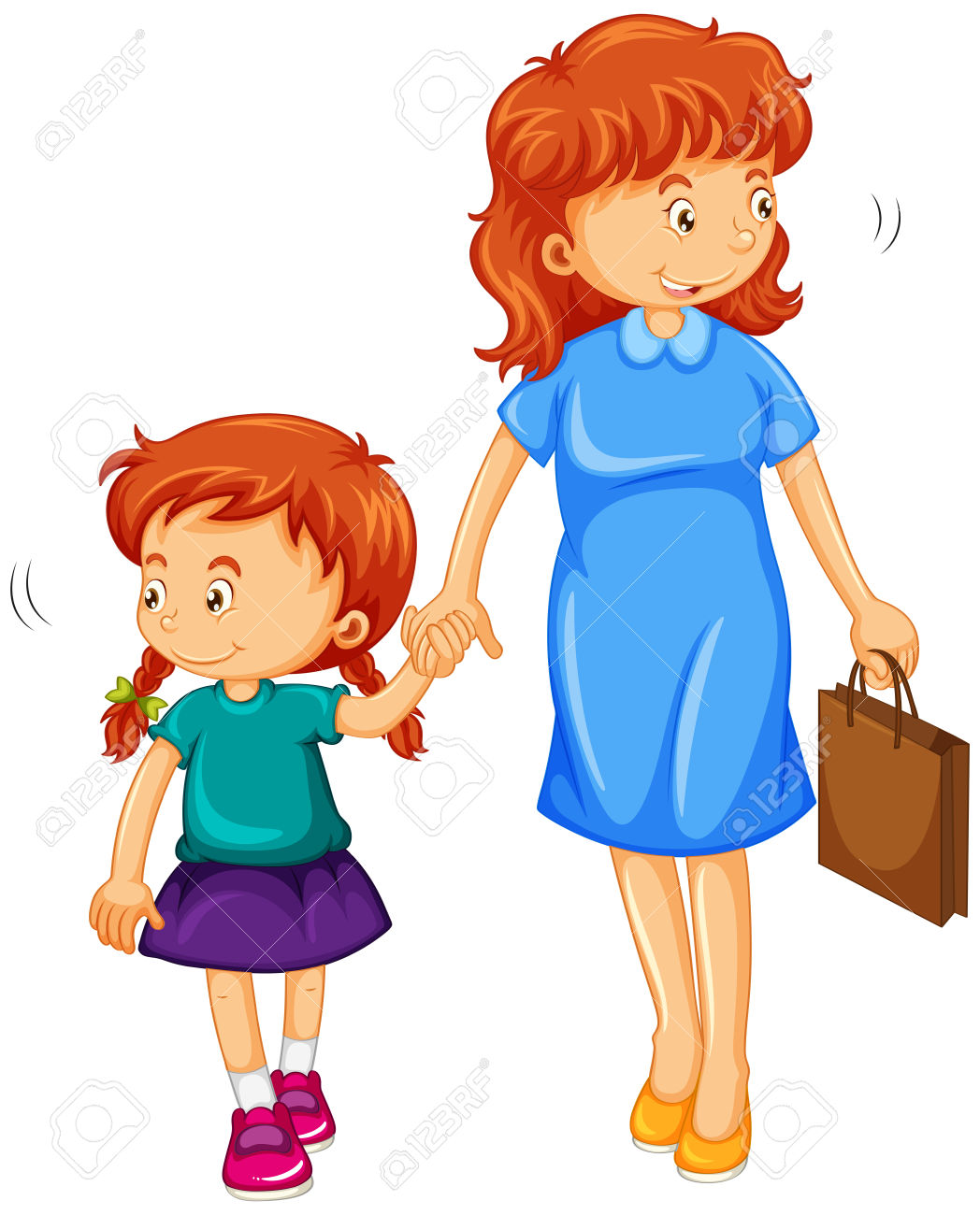1048x1300 Mom And Daughter Walking Clipart Amp Mom And Daughter Walking Clip