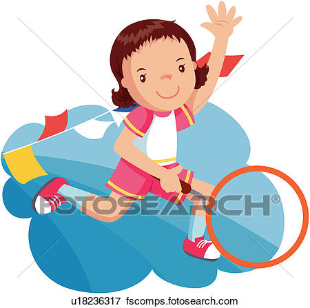 450x447 Clip Art Of Athletic Meeting, Childhood, 6 13years Old, Pupil