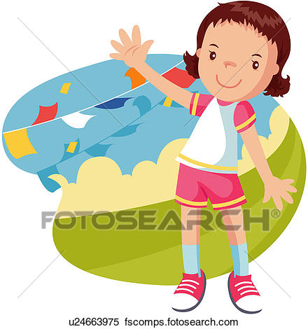 440x470 Clipart Of Athletic Meeting, Childhood, 6 13years Old, Pupil