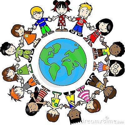 400x401 Children Around The World Clipart Clipart Panda