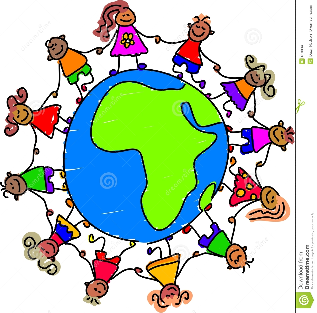 1316x1300 Holding Hands Around The World Clipart