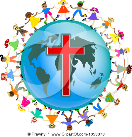 450x466 Of The World Cross Clipart