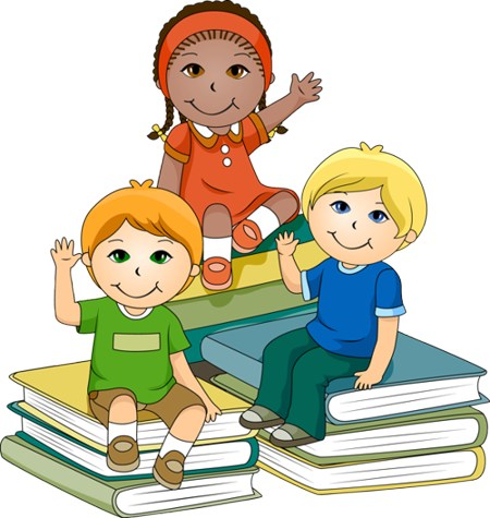 450x475 Children In School Clipart