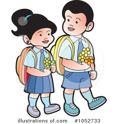 400x420 Clipart Of School Children