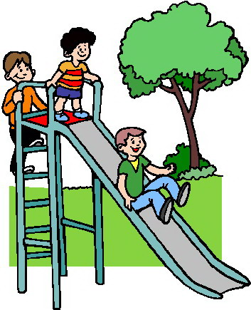 353x435 Kids Playing At School Clipart