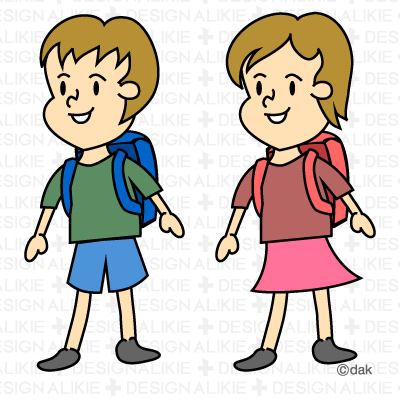 400x400 School Children Clipart