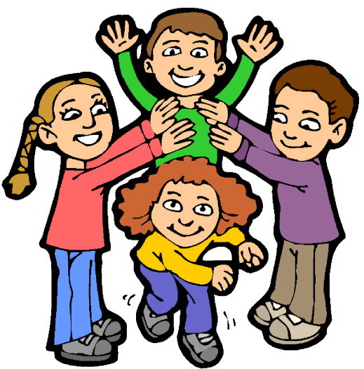 519x525 Clip Art Of Children Playing Clipart Collection