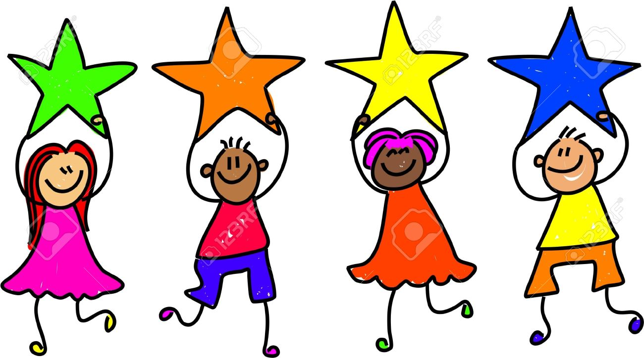 1300x724 Clipart Border + Children Diversity