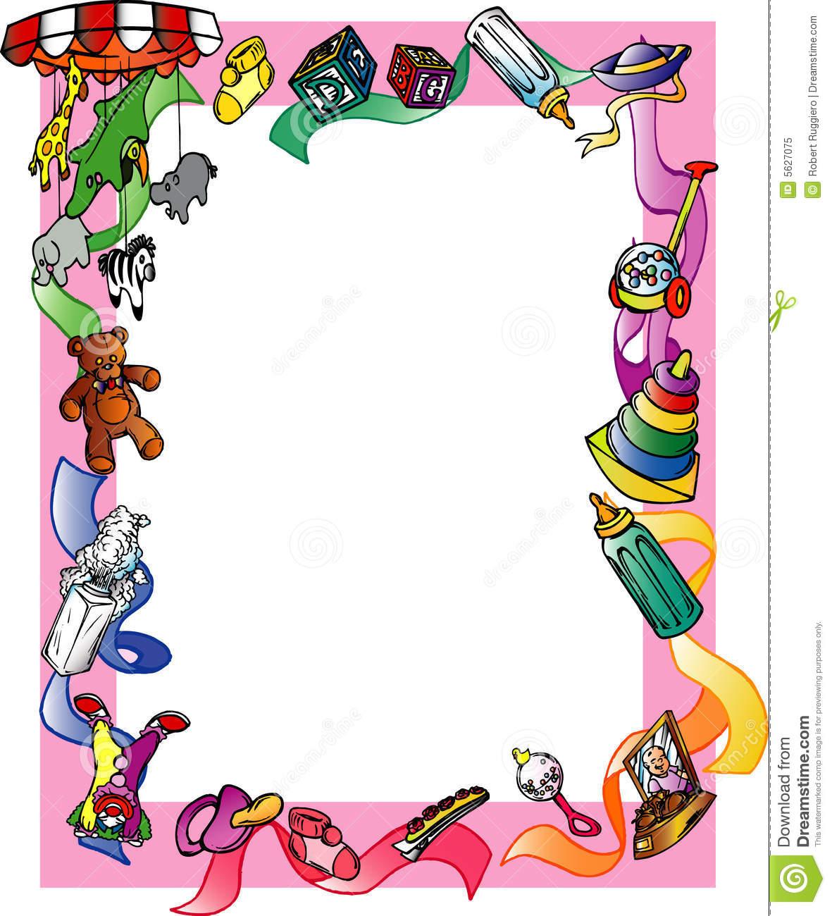 1181x1300 Kid Border Clip Art Kid S Clipart Panda