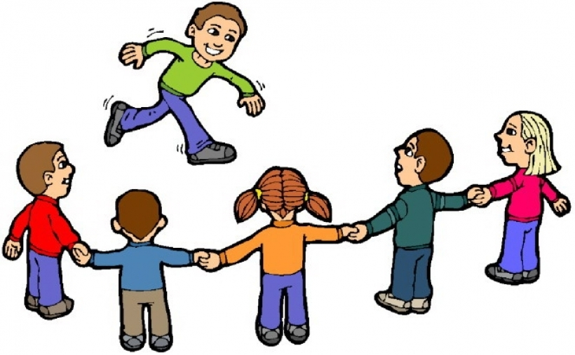 820x507 Children playing kids playing free clip art children clipart