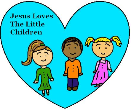 442x373 Top 86 Jesus Children Clip Art